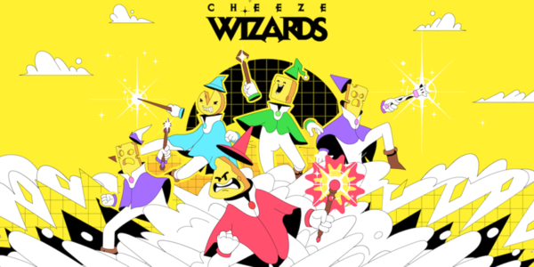 The team behind CryptoKitties launches Cheeze Wizards