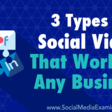 3 Types of Social Video That Work for Any Business