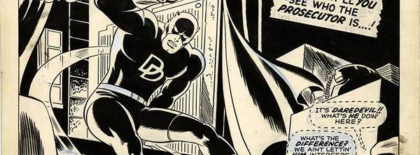 Gene Colan - Daredevil Original Art