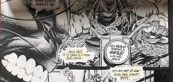 Dale Keown - The Pitt Original Comic Art