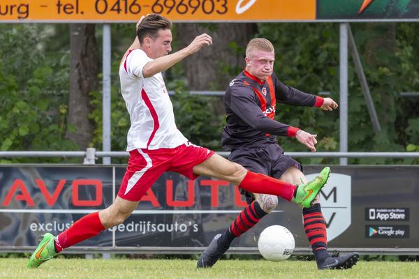 Het kampioenschap in 2F ging op doelsaldo aan Papendrecht voorbij. Klik op de foto (Jan Noorlandt) voor het verslag.