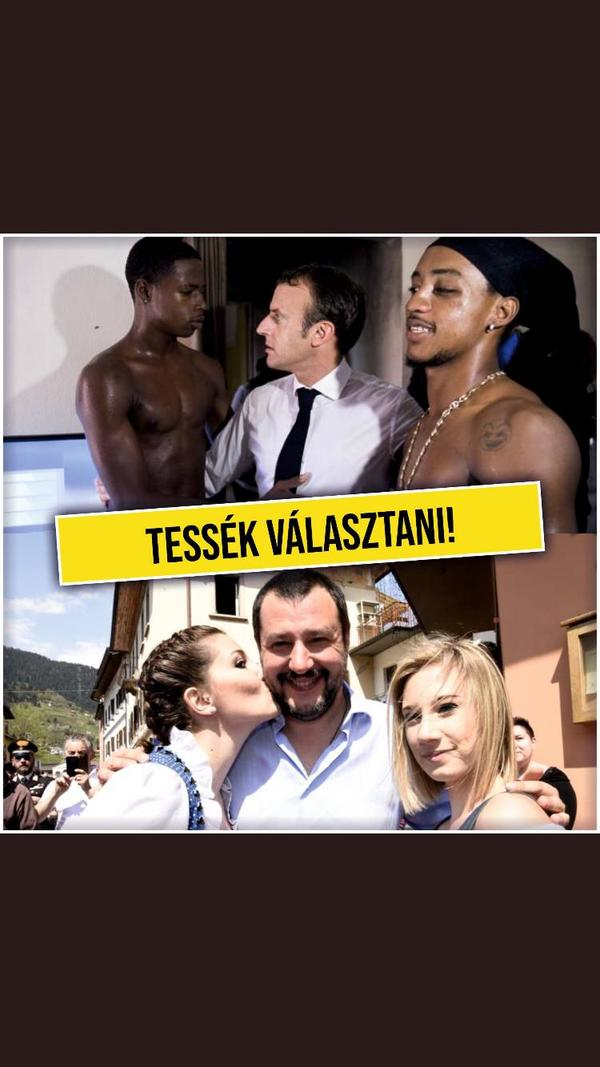 Dit is de keus in Hongarije volgens de posters