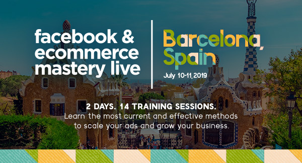 Looking to grow your ecommerce business? Attend Ecommerce Mastery Live and learn from the best experts and professionals in the business!