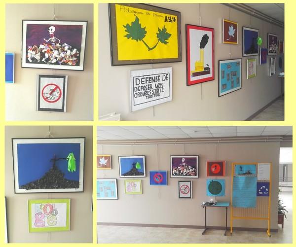Exposition des 3PP sur la protection de l'environnement dans les couloirs