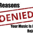 3 Reasons A Streaming Platform Will Reject Music