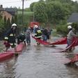 Podtopienia i powódź na południu Polski. Fala kulminacja na Wiśle minęła Kraków. Przed nią Sandomierz - WP Wiadomości