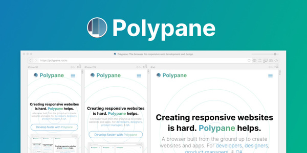 Polypane v1 — Designing responsive websites the right way