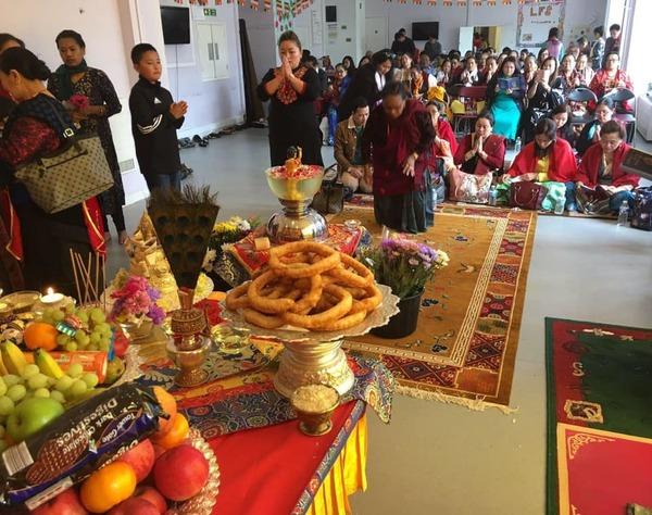 Vesak Celebration with Tulku Migmar Tsering at RYO UK