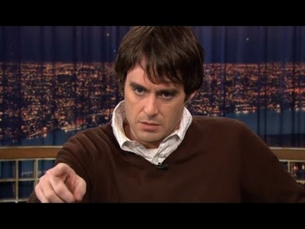 Spot on impressions of Al Pacino and Arnold Schwarzenegger by Bill Hader
