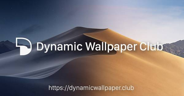 Dynamic Wallpaper Club — Create or get transitioning wallpapers for macOS Mojave