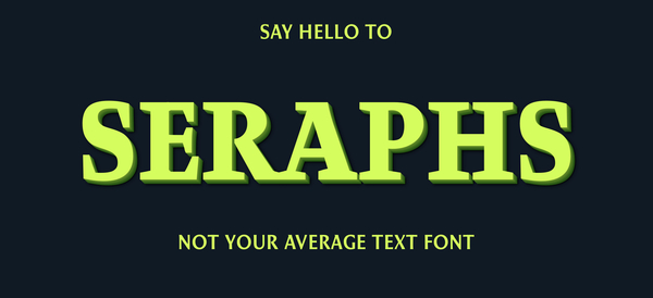 Seraphs — Variable Font