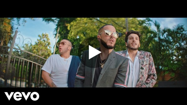 "6) Music video for Yandel, Sebastián Yatra & Manuel Turizo's ""En Cero"""