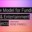 A new model for funding art & entertainment projects // presented at SXSW 2019 by René Pinnell