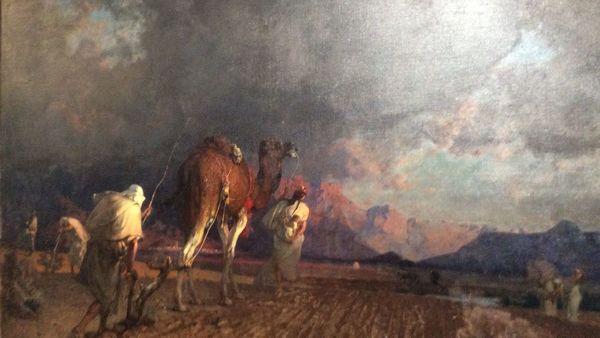 La Piscine à Roubaix expose l'Algérie de Gustave Guillaumet - Tentoonstelling over het Algerije van Guillaumet in La Piscine in Roubaix