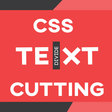 CSS Text Cut Effect On Hover
