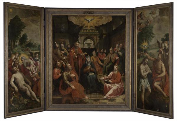 Maîtres flamands in Situ dans les églises courtraisiennes- Vlaamse meesters in de kijker in Kortrijkse kerken