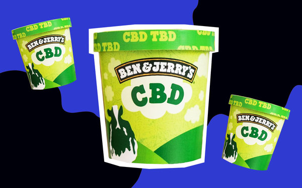 Ben & Jerry's 'Can't Wait' to Make CBD Ice Cream