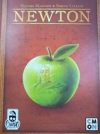 Tweedehands op de kop getikt: Newton, een pittig spel over wetenschap.