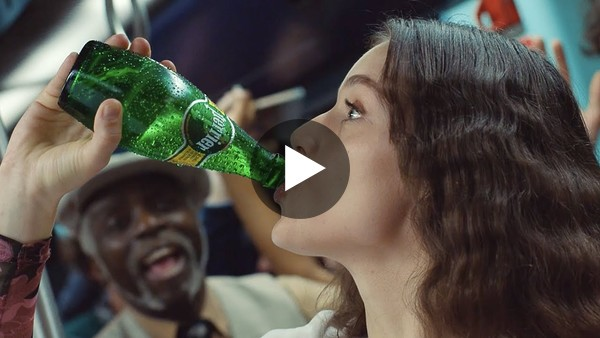 Check out this fun ad from Perrier featuring Mona Lisa coming to life.