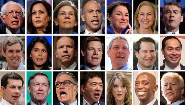 Het Democratische deelnemersveld breek alle records