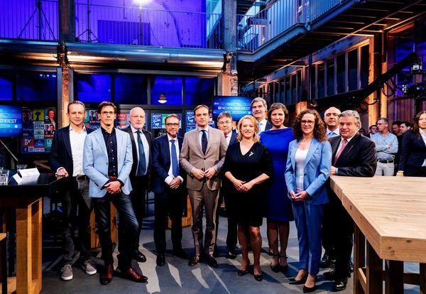 De Europese fractievoorzitters voor de verkiezingen