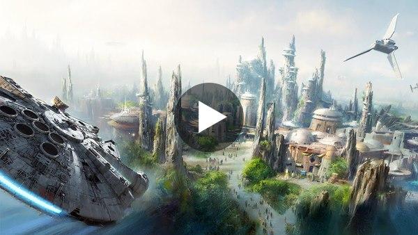 Bringing Star Wars Galaxy's Edge to Life | The B1M