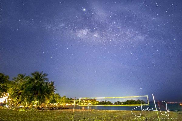 Mit dem Huawei P30 Pro kann man sogar in Singapur die Milchstraße fotografieren