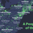 A People Map of the US, where city names are replaced by their most searched person on Wikipedia