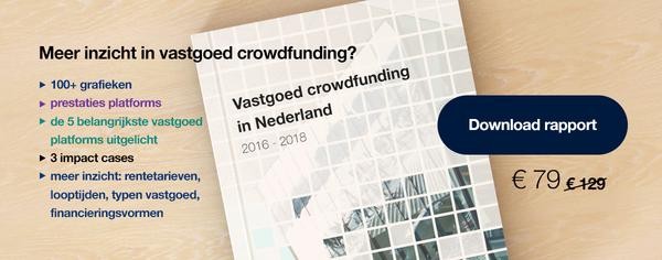 Al ruim €100 miljoen voor vastgoed crowdfunding