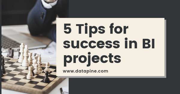 Top 5 Tips For Conducting Successful BI Projects With Examples & Templates