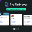 3Box Profile Hovers v2