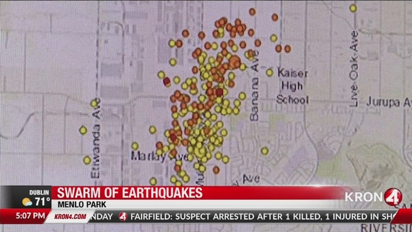 Earthquake Storm rattles Southern California