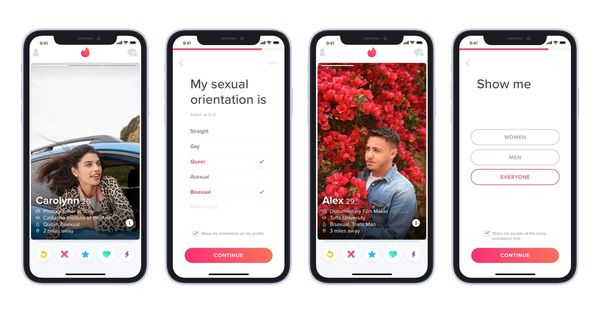 Tinder now lets people identify their sexual orientation