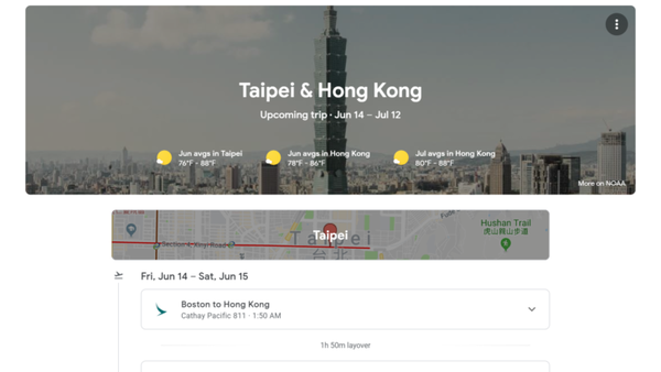 Google Trips finally has a home on the web with all the resources a vacation planner needs