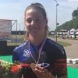 Goud voor inliner Chloé Hoogendoorn