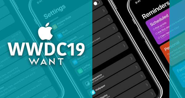 Apple's Dark Mode in iOS 13: zo ziet het eruit! - WANT