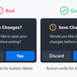 5 Rules for Choosing the Right Words on Button Labels