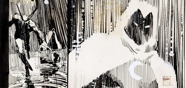 Bill Sienkiewicz - Moon Knight Original Art