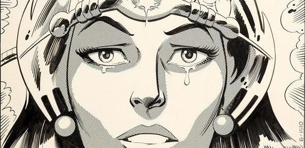 Don Heck - Wonder Woman Original Comic Art