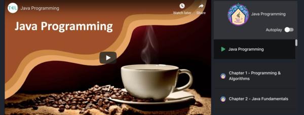 Intro to Java Programming by Angie Jones