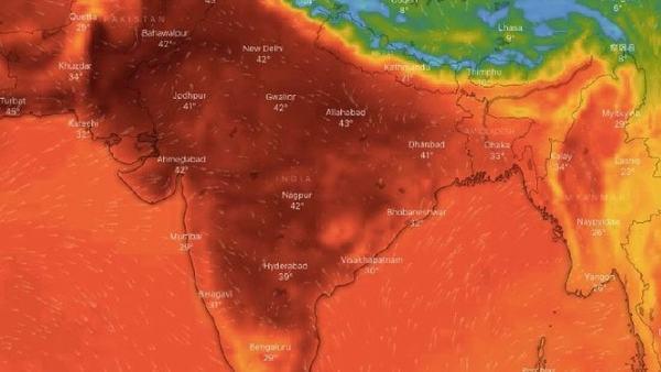 India weather: Temperature passes 50C Celsius in northern India