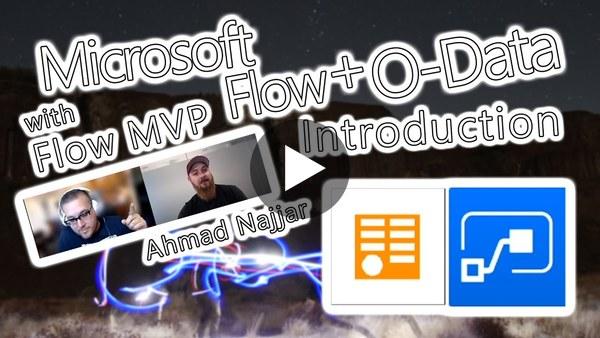 Microsoft Flow Tutorial - O-Data Introduction