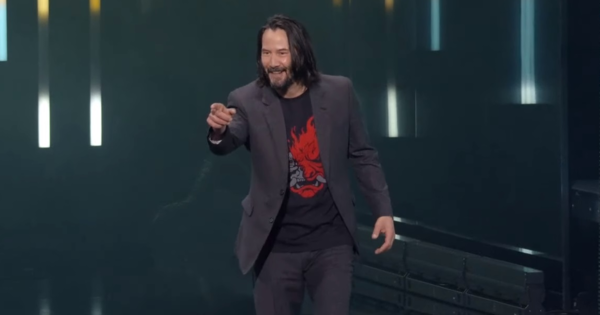 Keanu Reeves won the Xbox E3 2019 press conference