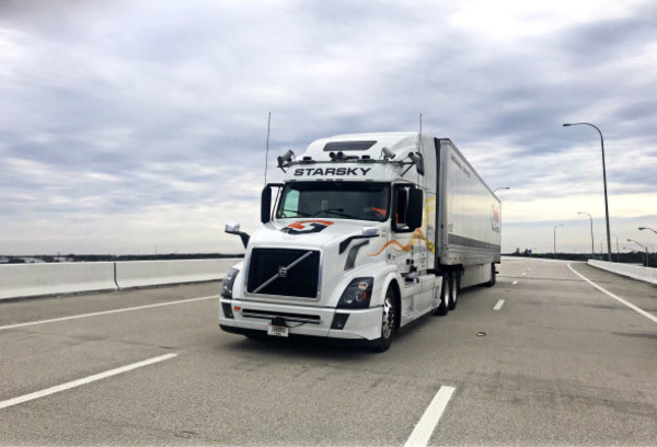 On the road to self-driving trucks, Starsky Robotics built a traditional trucking business