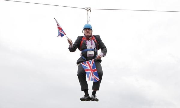 Boris Johnson in betere tijden