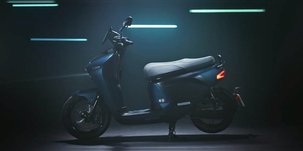 Yamaha EC-05 electric scooter unveiled with swappable Gogoro batteries