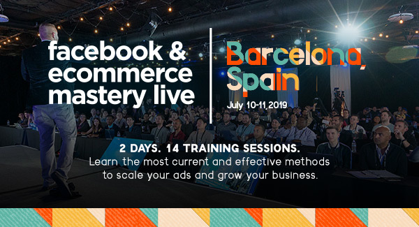 Learn the most effective methods to scale your ads & grow your business! Save 25% on your 2-day pass with the code: barcinno25
