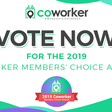 Welcome to the 2019 Coworker Members' Choice Awards Survey