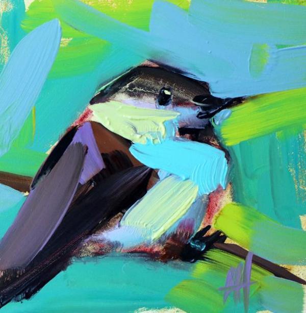 Beautiful oil work by artist Angela Moulton