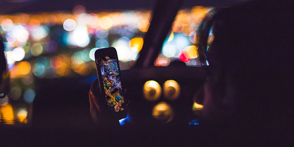 A phone, in a good place to watch Spielberg's forthcoming show. Credit: Tim Stief on Unsplash